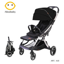 Newborn Baby Stroller Boys Girls Buggy Airplane Travel Strollers Folding Umbrell