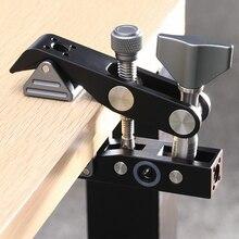 Yengeç kelepçe sabit klip taşınabilir seyahat fotoğraf braketi Tripod desteği için Vlog Video Canon Sony Nikon DSLR aksesuarları