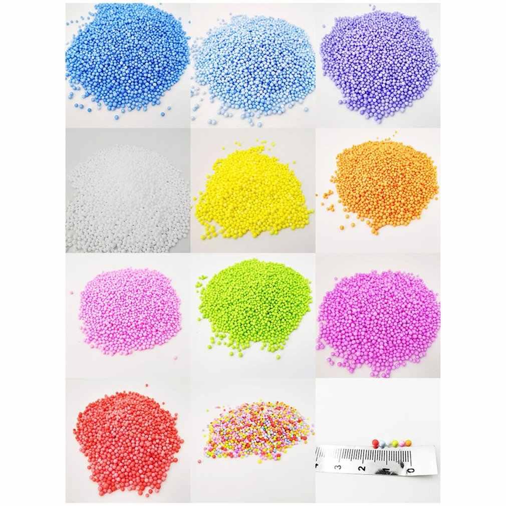 2 Pack Slime Foam Balls Vase Bottle Filler Slime Making Kit DIY Art Crafts for Soft Clay Decor Wedding Party Decoration