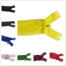 Invisible-Zippers Sewing-Clothes Orange Nylon Black 30cm Green 10pcs DIY for Purple 12inch