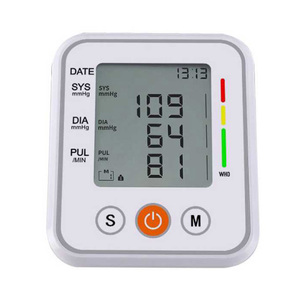 Image 5 - Automatico Medico misuratore di Pressione Sanguigna del Braccio Superiore Del Polsino Del Monitor intelligente Bp Frequenza Cardiaca Tonometro Sfigmomanometro Tensiometro