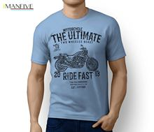 Summer T-Shirt Ultimate Japan Motorcycle VMAX 1200 Full Power Old School Inspired Art T-shi O-Neck Hipster Tshirts