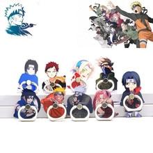 Cosplay Props Mobile-Phone-Stand-Holder Acrylic-Ring Akatsuki Anime Naruto Kakashi Uchiha Itachi