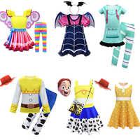 Nancy prinzessin cosplay Toy Story Woody Jessie cosplay Wreck-it Ralph Vanellope von Schweetz halloween kostüme für kinder mädchen