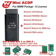 Original Yanhua Mini ACDP Programmierung Master für BMW Volle Paket insgesamt 6 Genehmigungen Für Modul 1/2/3/4/7/8