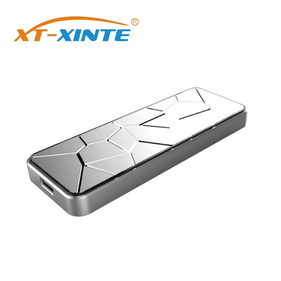 XT-XINTE SSD Enclosure USB 3.1 To M.2 NVME PCIe / M2 M-Key SATA To Type C Adapter Card Mobile Hard Disk For NGFF SATA SSD