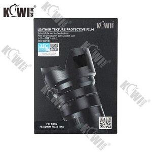 Image 5 - Anti kras Camera lens Huid Film Kit voor Sony FE 50mm F1.8 (SEL50F18F) lens & ALC SH146 Zonnekap 3M Sticker Protector