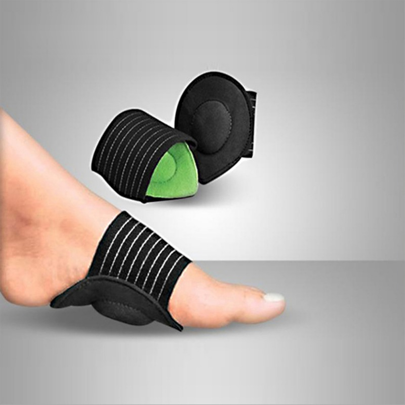 New Sole Support Flat Foot Fasciitis Bow Flat Foot Support Pain Foot Correction Insole NEW!