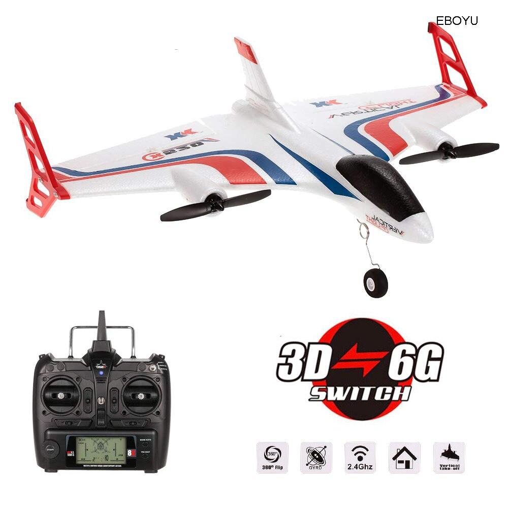 WLToys XK X520 2.4G 6CH 3D/6G avion VTOL décollage Vertical terre aile Delta Drone RC avec interrupteur de Mode planeur RC