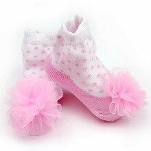 Носки для малышей г. Весенне-осенние детские носки с цветами носки для девочек носки для новорожденных от 0 до 24 месяцев одежда для малышей Meia Infantil