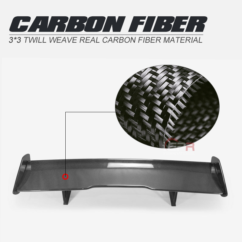 Car Accessories Real GTS Style Carbon Fiber Rear <font><b>Spoiler</b></font> Glossy Finish Trunk <font><b>GT</b></font> Wing Splitter Lip Fit For <font><b>BMW</b></font> 12-17 F82 M4 Coupe image