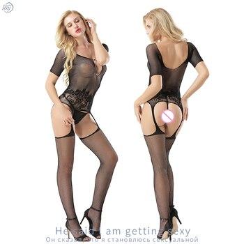 Συλλογή από σέξι κορμάκια με ενσωματωμένες κάλτσες