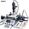 WEP 853AAA+ Programming Controlled Welding Station 1200W Preheating Station Soldering Iron Hot Air Gun 3 in 1 Soldering Station