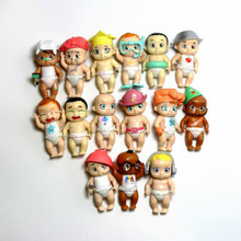 10PCS lot Secret Lovely Baby Dolls 7 5cm Cartoon Action Fgure Kids Toys Hands And Legs Can Move Home Decor Hobby Collections cheap youe shone Puppets Soldier Finished Product Finished Goods Unisex 8cm do not put in mouth Western Animiation 3 years old