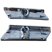 Car Headlight Washer Nozzle Cover Chrome Right and Left Fit for 2006-2011 GS300