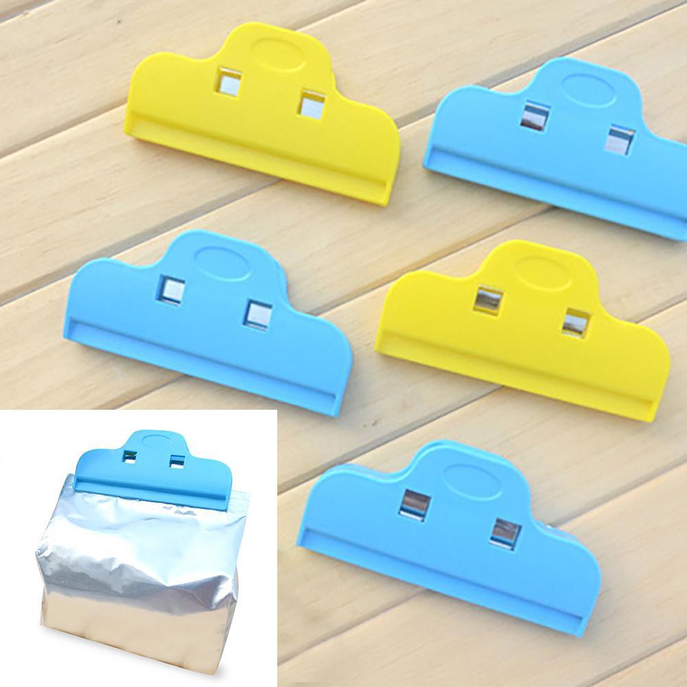 Universal Food Preservation Milk Powder Snacks Sealing Clip Plastic Bag Clamp