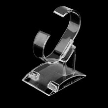 Wristwatch Stand-Case Display-Holder Showcase-Tool Clear Lightweight Acrylic Transparent