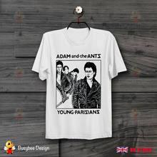 T-shirt unisexe, amusant et sympa, avec les enregistrements de l'homme et des fourmis Decca, jeunes paris, B359