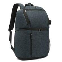 Multi functional Waterproof Camera Backpack Large Capacity with Wide Shoulder Belt Portable Travel Camera Bag