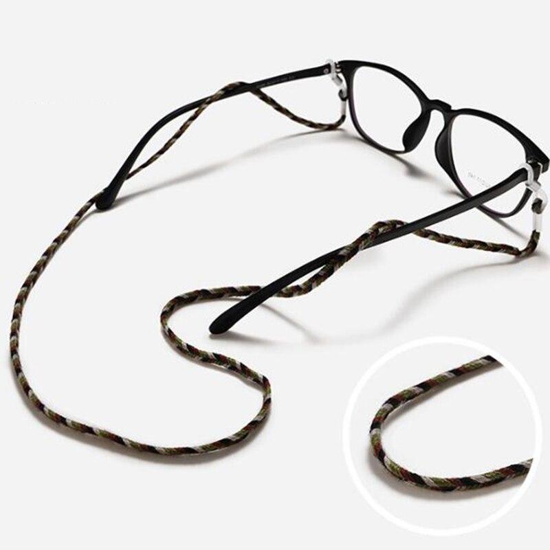Многоцветный нейлоновый плетеный шнур для очков держатель солнцезащитных