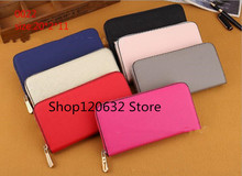 lady long wallet multicolor designer coin purse Card holder original box women classic zipper pocke
