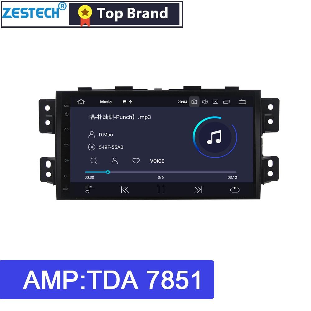 ZESTECH PX dotykowy ekran Android 9.0 2 din Radio samochodowe DVD GPS dla Kia Borrego/Mohave 2008-2012 samochodowe multimedia dla Kia Mohave