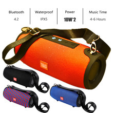 TG Bluetooth Speaker Portable Outdoor Loudspeaker Mini Kolom 3D 20W Musik Stereo Surround Mendukung FM TF Kartu Bass Box(China)