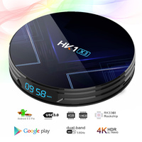 4 2 Hk1 X3 Tv Box Android 9.0 4 G 64gb Tvbox Android 9 Amlogic S905x3 4gb Ram 2.4g&5gWifi Bt4.0 1000m HK1 MAX Android Tv Set Top Box (3)