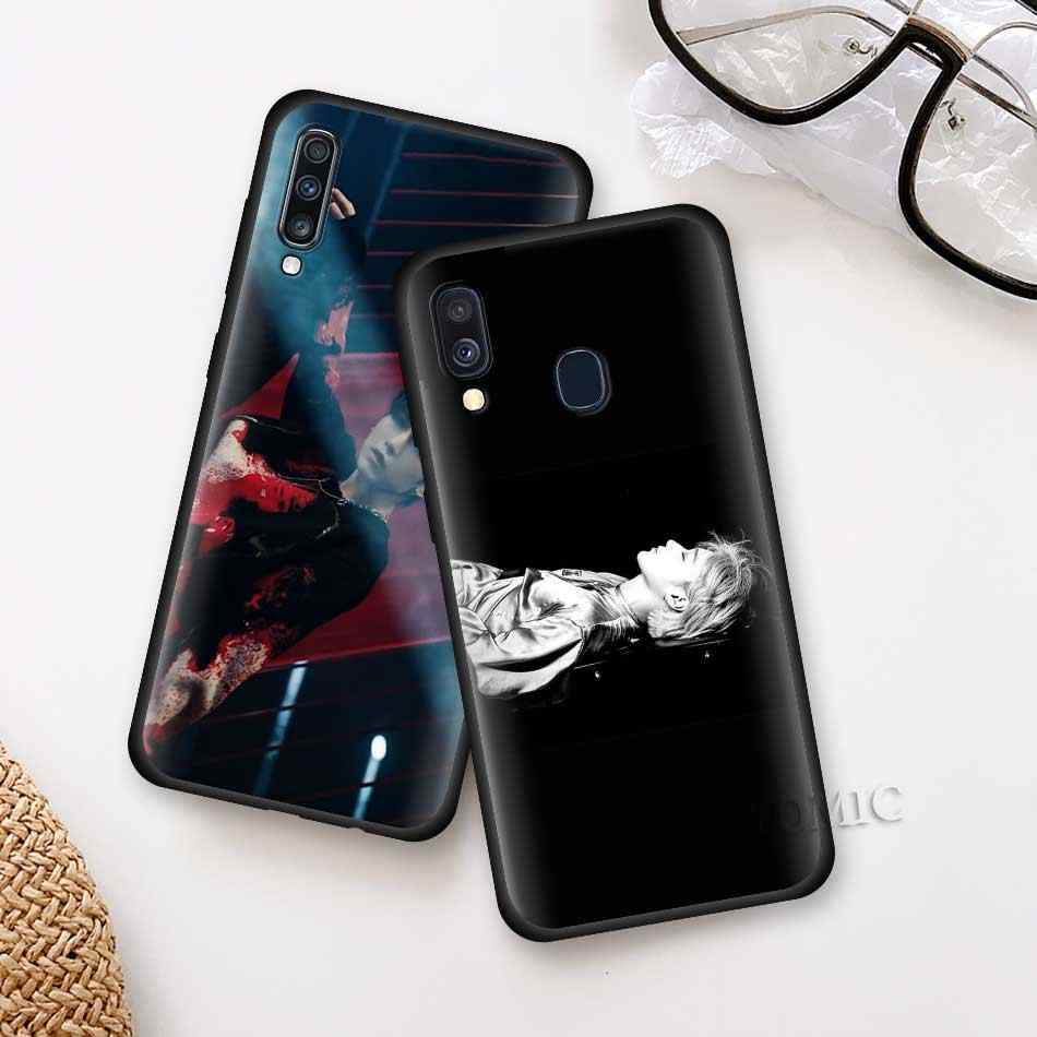 Ateez HongJoong SeongHWA samsung kılıfı Galaxy A50 A51 A71 A10 A20 A30 A40 A70 S A80 A90 5G siyah silikon telefon kapak kabuk