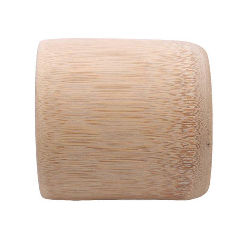 ホット販売自然環境保護純粋な手作り竹ティーカップ水カップ竹ラウンドティーカップ絶縁ギフト