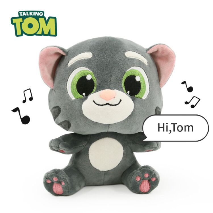 Electronic Vocal Plush Cat Toys Stuffed Talking Tom And Friends Soft Dolls Sounding Animal Christmas Birthday Gift For Kids