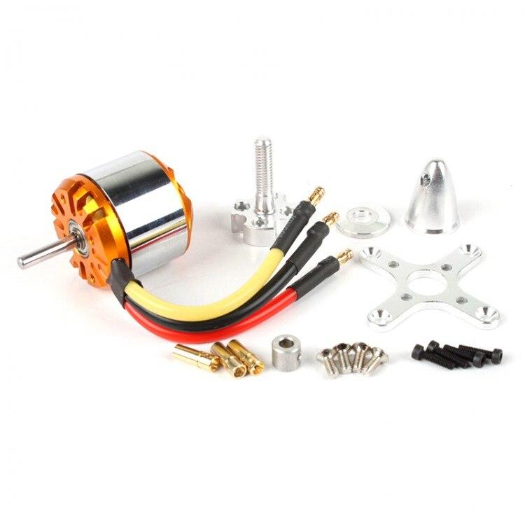 EMP C3536 Turnigy RCX C3536-1300KV 2-4S Brushless Motor 500W Quad-Hexa Copter Free Solder 3536