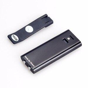Image 4 - Savetek 미니 클립 usb 펜 8 기가 바이트 16 기가 바이트 음성 활성화 디지털 오디오 보이스 레코더 mp3 플레이어 비 중지 50 시간 녹음 블랙