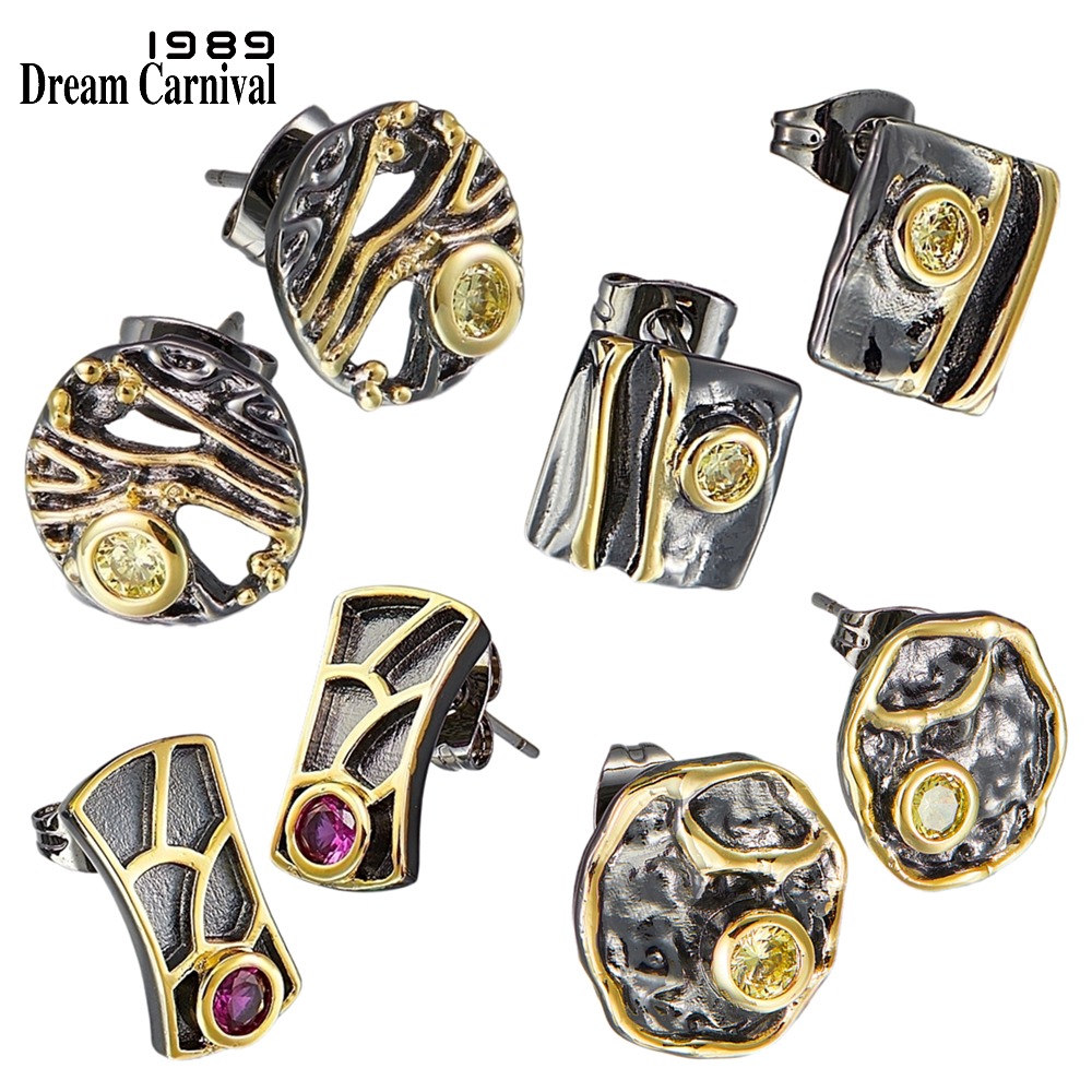 DreamCarnival 1989 Top Brand Recommend Super Cute Women Stud Earrings 4 Style Buy Together Discount Daily Fashion Jewelry WE39xx