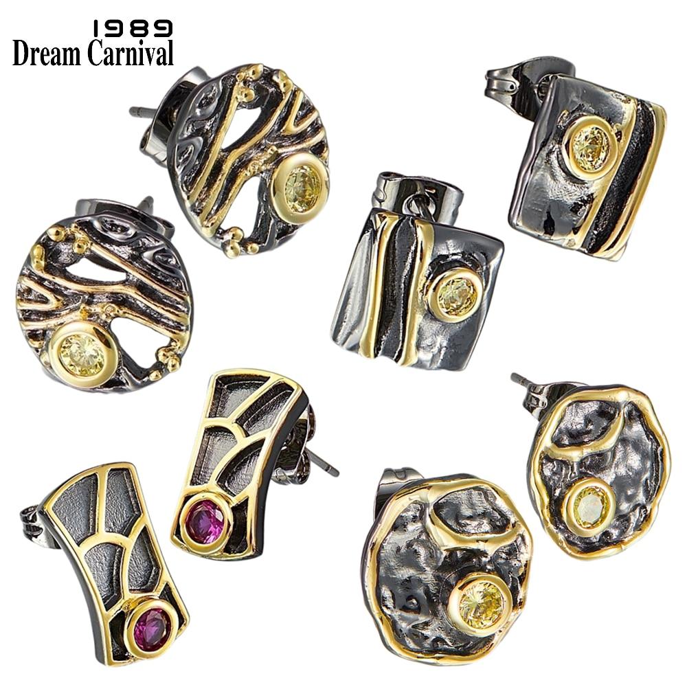 Dreamcarnaval 1989 Top marque recommander Super mignon femmes boucles doreilles 4 Style acheter ensemble Discount quotidien mode bijoux WE39xx