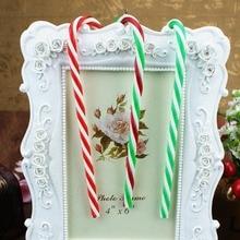 Christmas decorations gifts Christmas tree pendants Christmas candy cane decorations