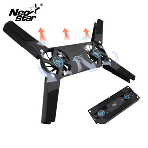 Image 1 - Rotatable USB Fan Cooling Pad 2 Fans Cooler Notebook Cooler Computer USB Fan Stand For 8 14 PC Laptop PC Computer Peripherals