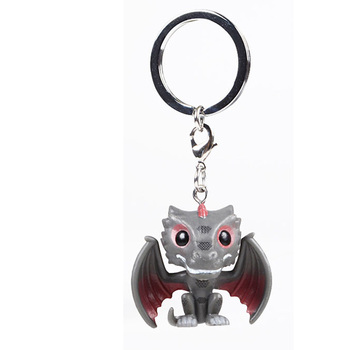 Game Thrones Dragon Keychain  1