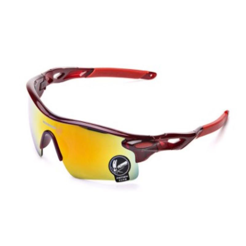 Wholesale Riding Bicycle Glasses UV400 Outdoor Fashion & Sports Mountain Climbing Fishing Wind-proof Glasses/9181