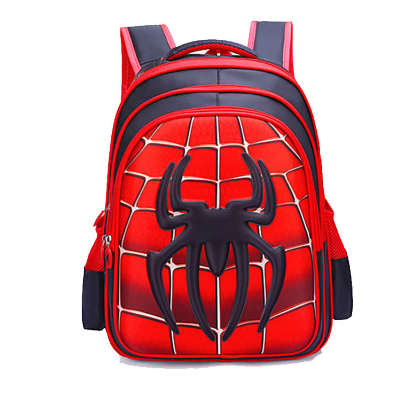 MARVEL Children 3D Cute Animal Design Backpack Boy Girl Elementary School Backpack Children Kindergarten School Bag Mochila Infa