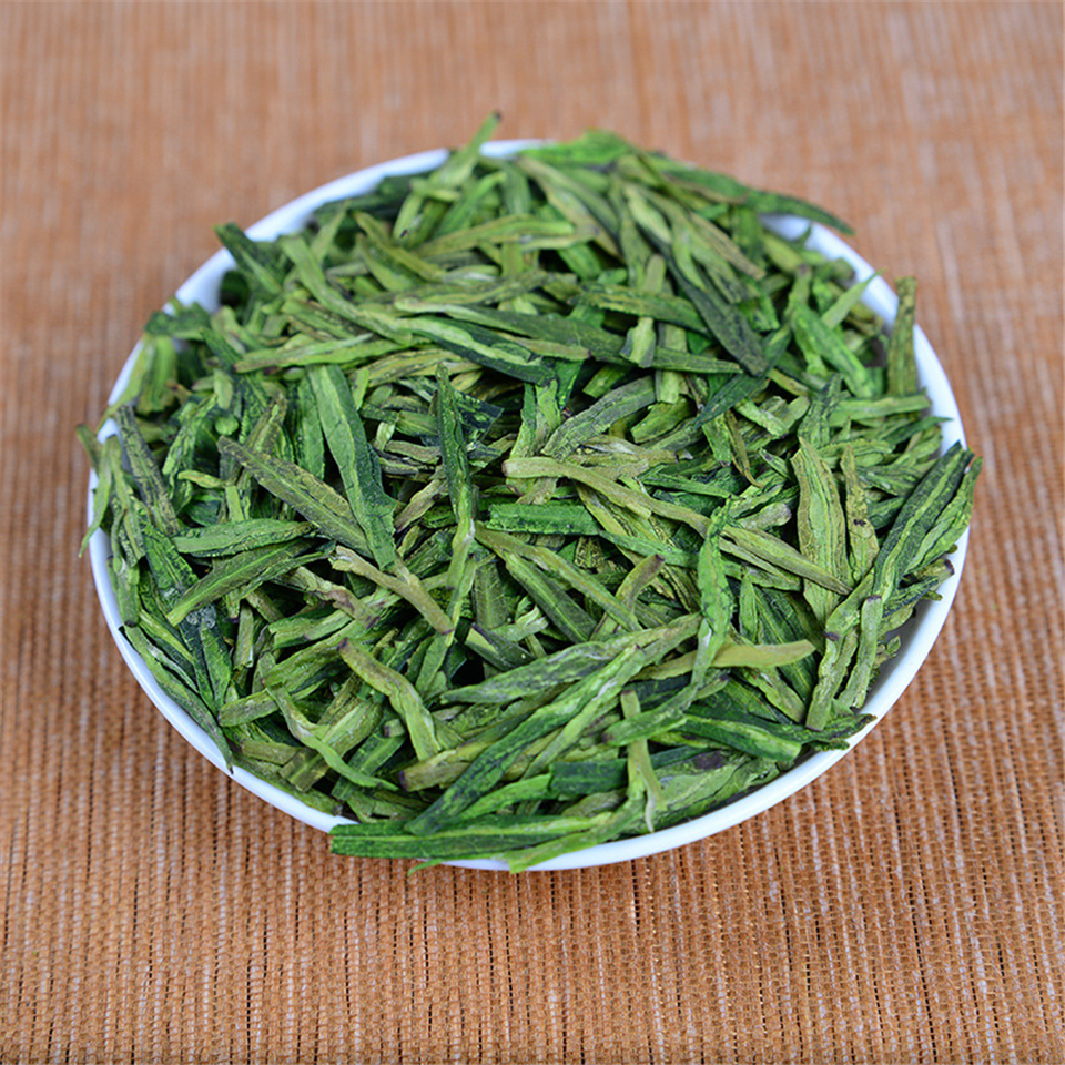 Famous Good Quality Dragon Well 2020 Spring Green Teafor Health Care Tender Aroma Free Shipping