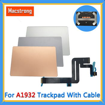 """Tested A1932 Touchpad With Flex Cable 821-01833-02 for MacBook Air 13"""" A1932 Trackpad Gray/Silver/Gold Replacement 2018"""