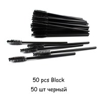 50pcs Black 1