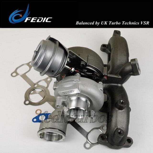Turbosprężarka GT1749V 721021 turbina pełna turbo dla Audi Seat VW 1.9 TDI 110Kw 150 km ARL 1998 2005