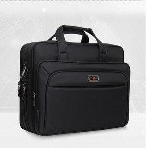 """Image 3 - 2020 yeni iş erkek evrak çantası yüksek kapasiteli erkek tek omuz çantaları 14 """"15"""" 16 """"Laptop çantası kadın iş dosyaları ofis paketi"""