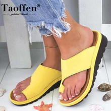 Taoffen 7 Color Size 35-43 Women Wedge Sandals Platform Fashion Summer