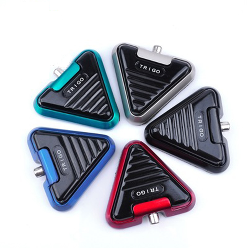Premium Triangle Tattoo Foot Pedal Switch Controller For Permanent Makeup Tatoo Machine Gun <font><b>Power</b></font> <font><b>Supply</b></font> Tatto Accessory Tools image