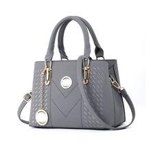 купить Fashionable New Women Handbag Shoulder Bag PU Leather Messenger Top Handle Bags Crossbody Satchel Purse Tote Bags по цене 1163.55 рублей