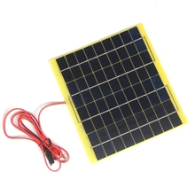Panels-Module Battery Solar-Cell Car-Charger-System Polycrystalline 10W 12V BUHESHUI