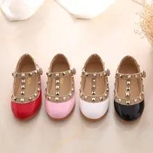 Shoes Sandals Rivets Toddler Girls Nude Princess Kids Children New